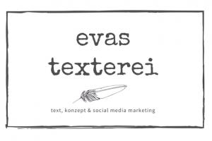 Evas Texterei Logo Text, Konzept und Social Media Marketing Wien