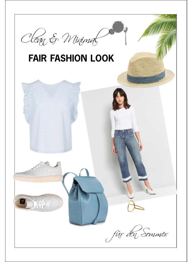 Sommer-Look und die Vorteile von Fair Fashion
