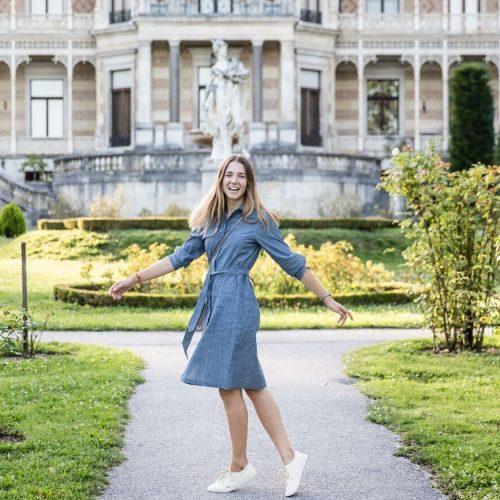 Fair Fashion Outfit und Gedanken zum Vorankommen im Leben